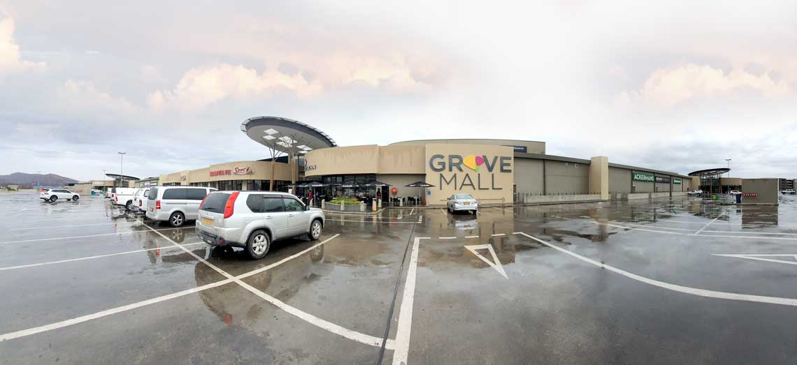 Grove Mall in Namibia get a fresh new look!